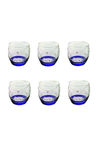 Paşabahçe 41010 Doğa Mavi Taşlı  Barel Su-meşrubat Bardağı 6 Adet