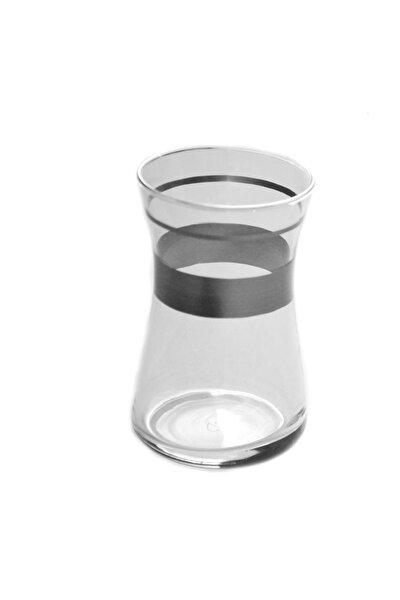 42361 Heybeli Platin (1+1) Dekor 6 Adet Çay Bardağı