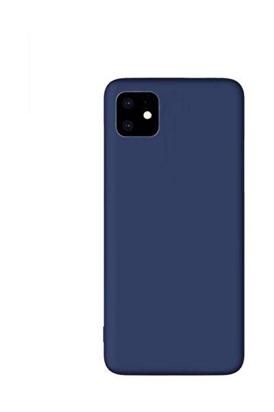 Iphone 11 Premium Matte Silikon Kılıf - Lacivert