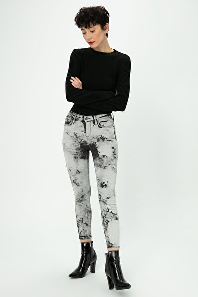 Kadın Gri Jeans TS1190018071