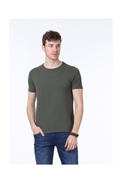 Düz Örme T-Shirt - RP10114149