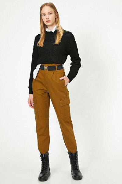 Kadın Yeşil Kargo Pantolon 0KAK43102MW