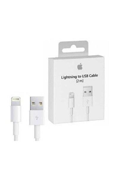 Apple Şarj Kablosu Iphone Lightning  Usb Kablo 2 Metre
