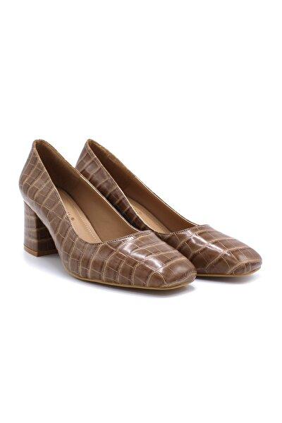 Kare Topuklu Neolit Taban Topuklu 281-830 Kadın Ayakkabı