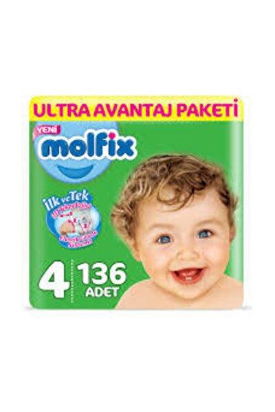 Bebek Bezi Ultra Avantaj Paketi 4 Numara 136 Adet