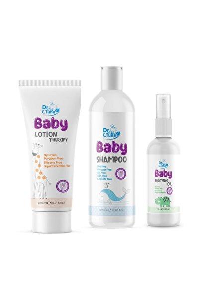 Bebek Bakım Seti 3 Lü (şampuan+bebek Losyonu+ Bebek Yağı)