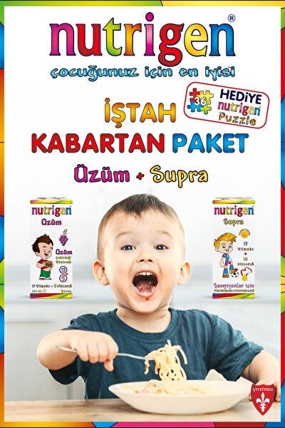 İştah Kabartan Paket (Üzüm + Supra) Puzzle Hediyeli