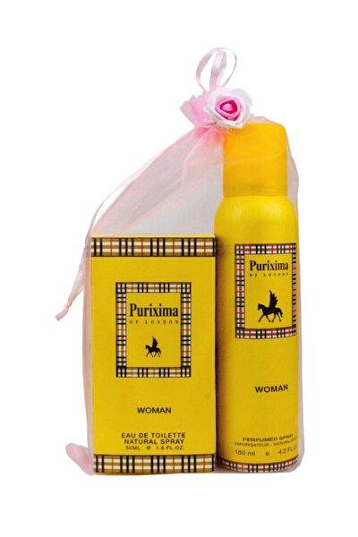 Purixima Of London Kadın Edt 50ml Parfüm Ve Deo 150 ml Seti