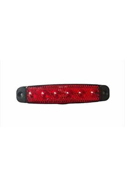 6 Ledli Mercekli Parmak Lamba En Uygun Fiyat Kırmızı