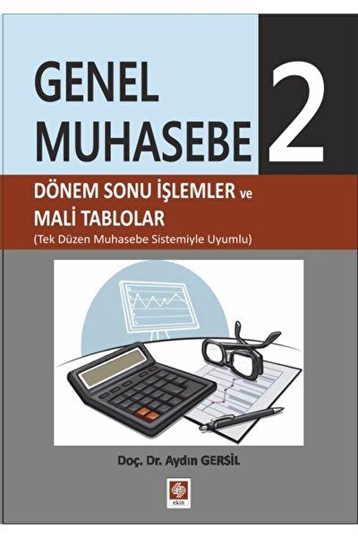 Genel Muhasebe 2 - Aydın Gersil