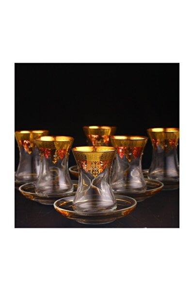 12 Parça Çay Takımı - Ottoman Altın