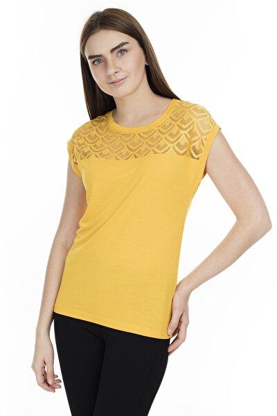 Kadın Sarı T-shirt 15151008