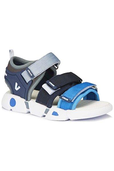 Erkek Mavi Çocuk Günlük Spor Sandalet 332-f21y-191