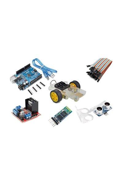 Arduino Bluetooth Robot Araba Kiti - 2wd