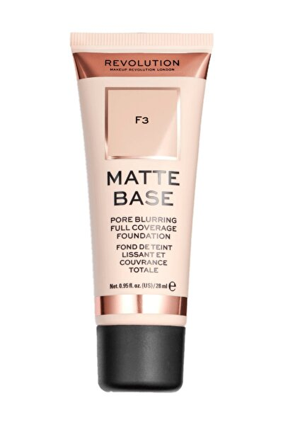 Matte Base Foundation F3 Fondöten
