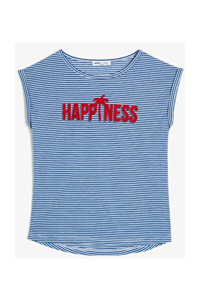 Lacivert Kız Çocuk T-Shirt 0YKG17271OK