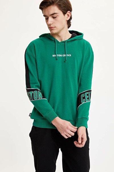 Erkek Yeşil Nba Lisanslı Sweatshirt N2605AZ.20SP.GN154