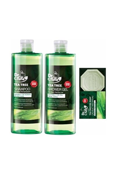 Çay Ağacı Şampuan + Duş Jeli +sabun
