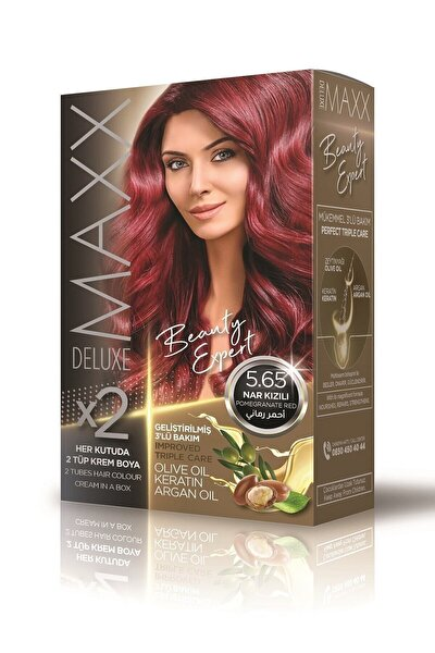 Beauty Expert 5.65 Nar Kızılı Set Boya
