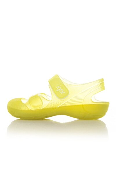 S10110-E63 Sarı Unisex Çocuk Sandalet 100293810