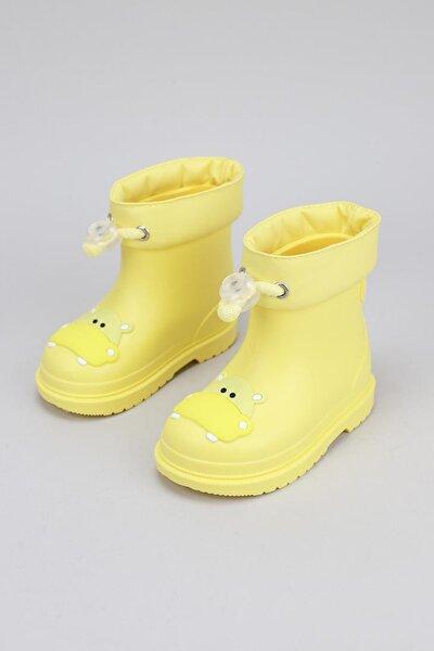 Bimbi Hipo Çocuk Yağmur Çizmesi Sarı