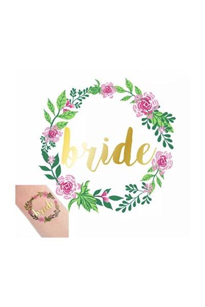 Bride Dövme - Team Bride Dövme Çiçekli