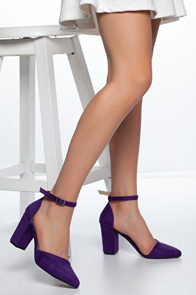 Mor-Süet Kadın Ayakkabı DXTRSKRNYRKY002