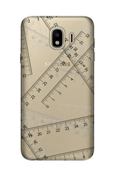 Samsung Galaxy J6 Kılıf Desenli Resimli Hd Silikon Telefon Kabı Kapak - Cetvel