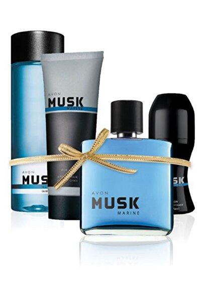 Musk Marine Edt 75 Ml Erkek Parfüm 4 Lü Set