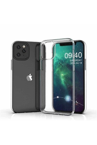 Iphone 12 Pro Max 6.7 Lux Şeffaf Slıkon