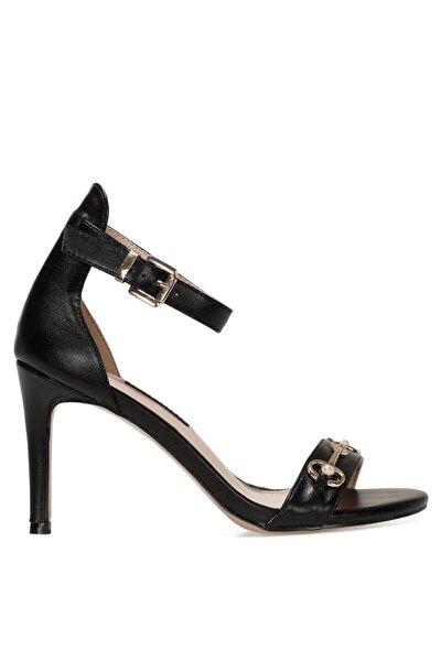 LEATRICE 1FX Siyah Kadın Sandalet 101008331