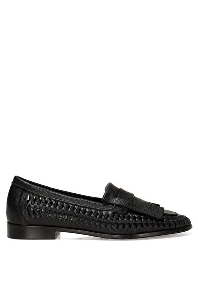 FAINRA 1FX Siyah Kadın Loafer Ayakkabı 101031012