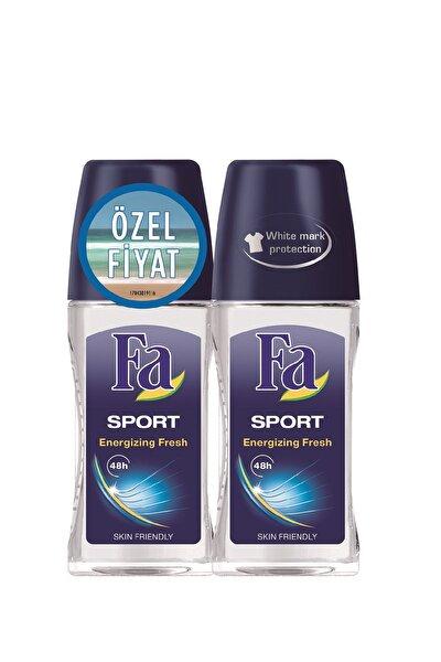 2'Li Erkek Deodorant Roll-On - Sport 50  ml   + 50 ml