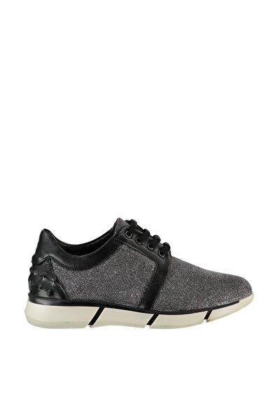 Hakiki Deri Gümüş Kadın Sneaker 120130000785
