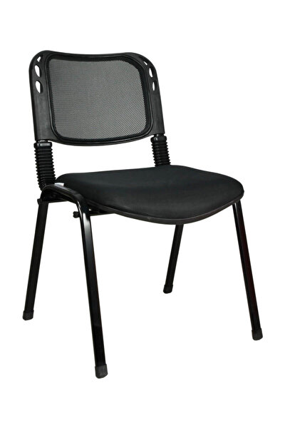Fileli Form Sandalye Siyah