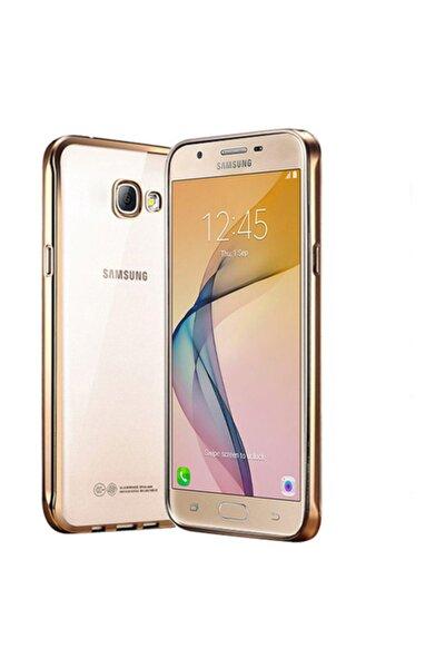 Samsung Galaxy J5 Prime Kılıf Flexi Delux Gold