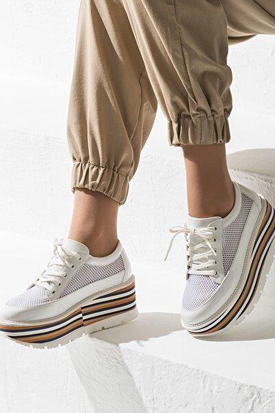 BELL Beyaz Kadın Sneaker
