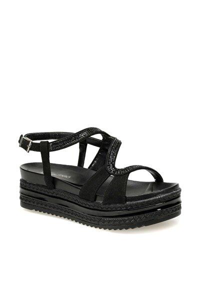 19s-382 Siyah Kadın Sandalet 100372520