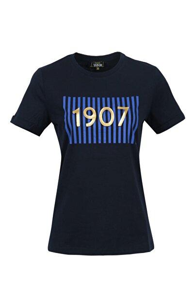 Kadın Tribün 1907 Emboss T-Shirt
