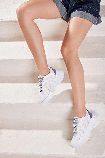 Beyaz Kadın Ayakkabı H06391600