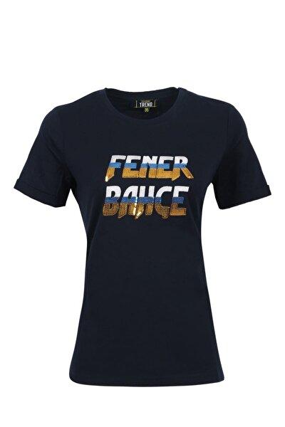 Kadın Trend Nakışlı T-Shirt