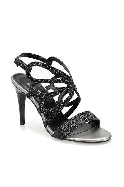19S-163 Siyah Kadın Topuklu Sandalet 100371439