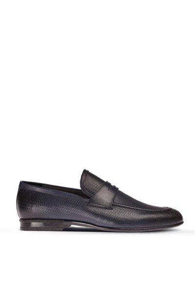 Lacivert Erkek  Loafer Ayakkabı 01711MLCVC01