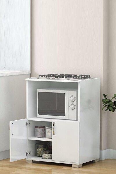 Mutfak Mikrodalga Fırın Dolabı Set Altı Dolap