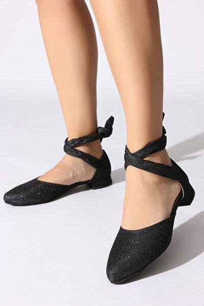 Siyah Kadın Sandalet 077312-03