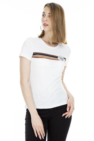 Kadın Baskılı T-Shirt 15183203