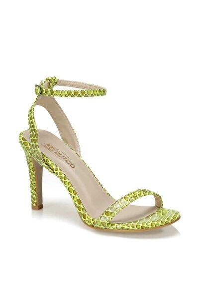 KORO47Z CİLT Sarı Kadın Sandalet 100468726