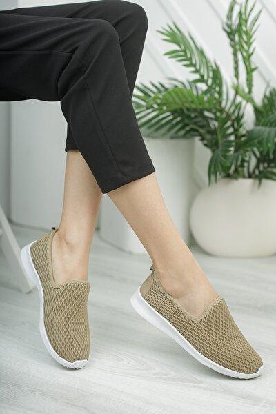 Kadın Taba Babet Hafif Taban Günlük Ayakkabı