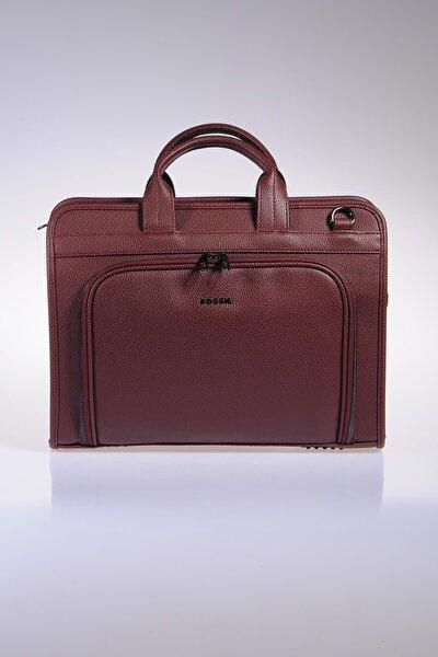 Bordo Unisex Laptop & Evrak Çantası 8690027118134