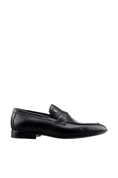 Siyah Erkek Oxford Ayakkabı 19YAYPCAR000003